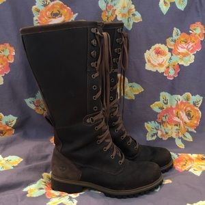 Timberland Wheelright Tall Lace Up Boots